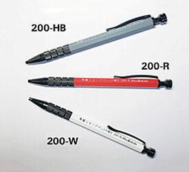 ☆祥碩堂/ShoSekido 朱雀 建築用シャープペン 2.0mm 硬芯 HB・赤・白 (200-HB/200-R/200-W)
