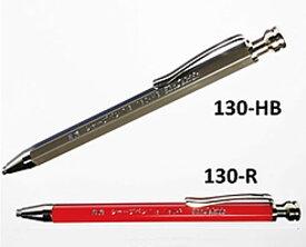 ☆祥碩堂/ShoSekido 白虎 建築用シャープペン 1.3mm 黒(HB)・赤 (130-HB/130-R)