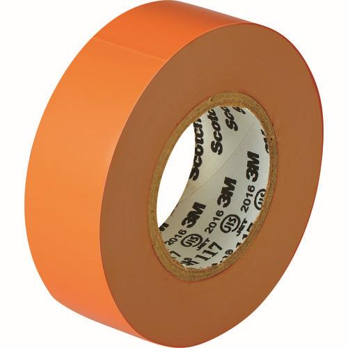 ☆3M/スリーエム 117 ORA 10 10P ビニールテープ 117 橙 19mmX10m 10巻入  コード(1164722) 【RCP】