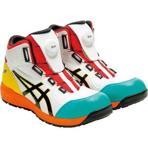【数量限定】☆アシックス/ASICS 1271A030.104 ウィンジョブ CP304 BOA ホワイト×ブラック ハイカット (25.0cm〜28.0cm) 安全靴 作業靴 セーフティシューズ ワーキングシューズ