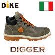 【送料無料】☆ディーケ/DIKE男性用作業靴ディガー/DIGGERグレー21021-414【RCP】