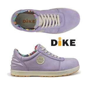 ☆ディーケ/DIKE 25611-890 女性用作業靴 レディーDラベンダー