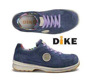 ☆ディーケ/DIKE 30912-193 女性用作業靴 レディーDネイビー