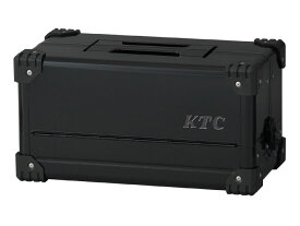 ☆KTC/京都機械工具 EK-10AGBK 両開きメタルケース ブラック  【RCP】