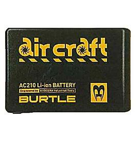 ☆BURTLE/バートル AC210 AIR CRAFT リチウムイオンバッテリー 大容量タイプ 充電器付き 2019年モデル 空調服用バッテリー  【RCP】