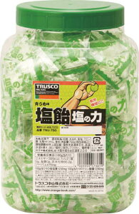 ☆TRUSCO/トラスコ中山 塩飴/塩の力 750gボトルタイプ 青梅味 TNU-750 コード(4087372)