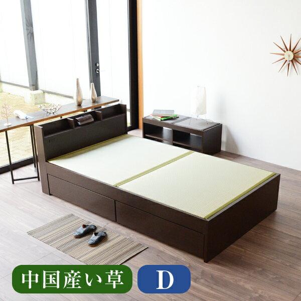 畳ベッド ダブル用ベッド用取り換え畳 ダブルサイズ(畳2枚1セット)中国産い草畳表/縁付き畳日本製ベッド用畳 オーダーサイズ 交換 ベット用畳 畳ベット 送料無料
