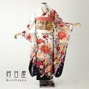 振袖 レンタル フルセット 正絹 着物 【レンタル】 結婚式 成人式 身長161-176cm 白 wh-039