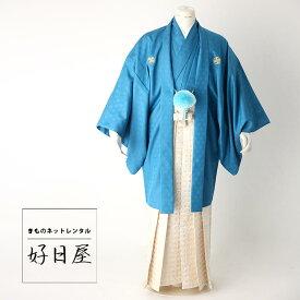 卒業式 袴 レンタル 男 着物 【レンタル】 結婚式 着物 【レンタル】 成人式 男性 紋付袴 dh-017