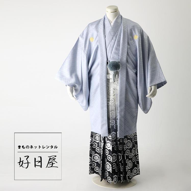 卒業式 袴 レンタル 男 結婚式 袴セット 紋付羽織袴 着物 成人式 男性 紋付袴 dh-025