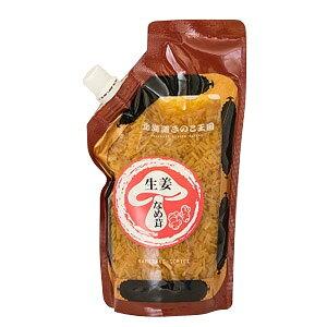 北海道きのこ王国 生姜なめ茸スタンドパック パウチ (400g)惣菜 キノコ ナメタケ
