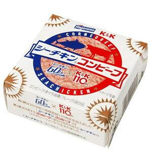 K&K シーチキンコンビーフ(80g)惣菜 おつまみ おかず ごはんのお供 ツナマヨ革命 マヨネーズを和えて