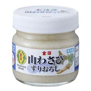 金印 北海道山わさび すりおろし 80gワサビ 山葵 ホースラディッシュ お惣菜 調味料 薬味 辛味