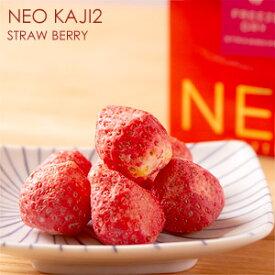 北海道十三菓 NEO KAJI2 ストロベリー 70gふたみ青果 ネオ果実 フルーツチョコ しみチョコ フリーズドライ 苺 イチゴ いちご FREEZE DRY STRAWBERRY ホワイトチョコレート