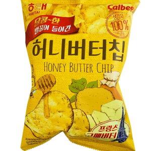 新ヘテ ハニーバターチップ(60g)韓国 ポテトチップス スナック お菓子 おやつ