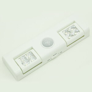 LEDセンサーライト LEDライト 人感センサー 単3 電池式