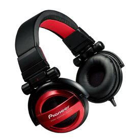 Pioneer パイオニア BASS HEADシリーズ 密閉型 ヘッドホン ヘッドフォン レッド SE-MJ732-R【送料無料】