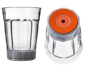 グラス クイックロックグラス 倒れないグラス コップ Quick Lock Glass WGQG904M