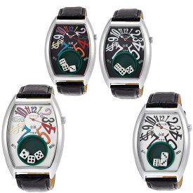 腕時計 フランク三浦 メンズ FRANKMIURA 腕時計 五号機 5号機 マカオ 革ベルト FM05K(カラフルシルバー・カラフルブラック・シルバー・ブラック)【送料無料(北海道、沖縄、離島は適用外)】