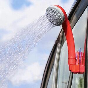 ポータブルシャワー 簡易シャワー 携帯シャワー 電動シャワー アウトドアシャワー 電動ポータブルシャワー DC12V 車用 海水浴 ビーチ キャンプ 水遊び プール 防災グッズ OUTDOOR MAN PORTABLE SHOW