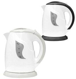 電気 ケトル D-STYLIST ハンディキッチンケトル ブラック グレーコーヒーカップ1杯分(約140ml) 電気ポット ケトル 湯沸かし器 湯沸かしケトル お湯 約90秒 容量:1.0L
