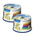 [楽天スーパーSALE全品2倍]DVD-R CPRM 録画用 100枚=50枚X2 三菱化学 VHR12JP50V4 【送料無料】