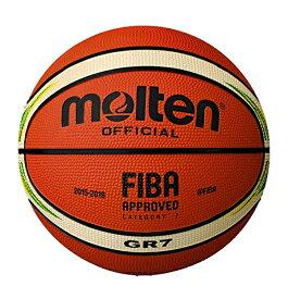 molten(モルテン) バスケットボール FIBAスペシャルエディション GR7 BGR7-YG アイボリー×クリーム 7号【送料無料】
