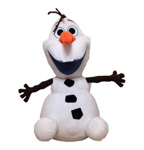 オラフ ぬいぐるみ ギミック アナと雪の女王 ディズニー Disney アナ雪 オラフ がぐるぐる動く!!!寝そべりポーズ 約40cm(鼻から足まで)か、お座りポーズ 約38cm (髪の毛からおしりまで)をご選択下さい【送料無料】