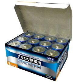 [イーグルス感謝祭全品2倍]単1 アルカリ乾電池 12本 単一 【宅配便発送専門】