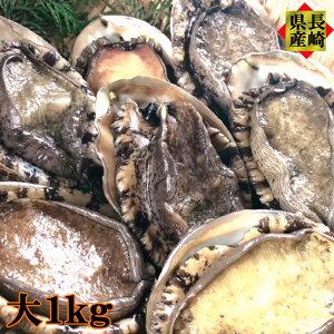 ギフト プレゼント 感謝の気持ち 長崎県産 天然アワビ 大 1kg以上 お刺身 炊き込みご飯 ステーキ 海鮮 ギフト