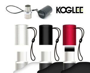 PPwith koglee プルームテックプラスウィズ PloomTECH Plus With 専用 キャップ ケース アクセサリー 防塵保護 Ploom TECH + おしゃれ おすすめ メタルキャップ コンパクト