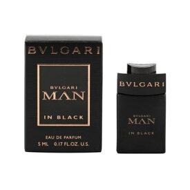 ブルガリ BVLGARI ブルガリ マン イン ブラック EDP 5ml ミニチュア 【ミニ香水】【あす楽】【割引クーポンあり】