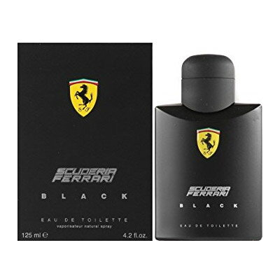 フェラーリ FERRARI フェラーリ ブラック EDT SP 125ml 【香水】【激安セール】【あす楽】【最大400円OFFクーポン】