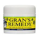 グランズレメディ GRAN'S REMEDY フットパウダー レギュラー オリジナル 無香料 50g 【あす楽休み】【割引クーポンあり】