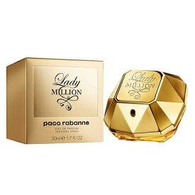 パコ ラバンヌ PACO RABANNE レディミリオン オードパルファム EDP SP 50ml 【香水】【あす楽】【送料無料】【割引クーポンあり】