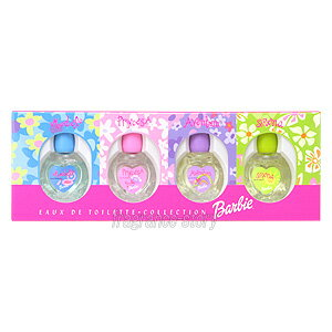 バービー Barbie オードトワレ コレクション 6ml×4 ミニ香水 ミニチュア fs 【あす楽:エリア限 営業日 正午迄】