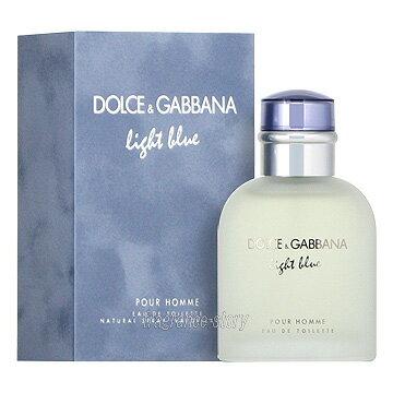 ドルチェ&ガッバーナ DOLCE & GABBANA D&G ライトブルー プールオム 125ml EDT SP fs 【あす楽】【香水 メンズ】