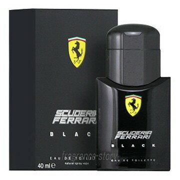 週末セール★フェラーリ FERRARI フェラーリ ブラック 125ml EDT SP fs 【あす楽】【香水 メンズ】