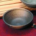 黒黄金吹 江戸彫 玉渕小鉢
