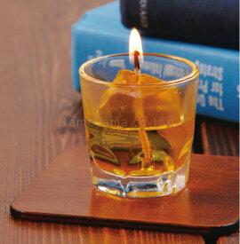 ウイスキーロックキャンドル ウイスキー 故人の好物シリーズ 好物キャンドル キャンドル ローソク 蝋燭 ろうそく 亀山 カメヤマ 御供 お供え お墓参り
