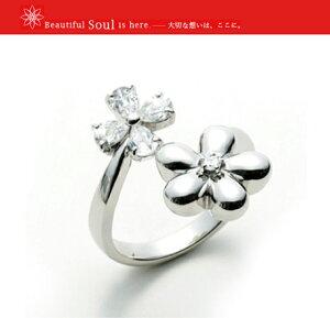 ソウルジュエリー 遺骨リング リング フラワー Soul Jewelry  手元供養 送料無料