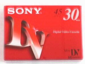 ソニー デジタルビデオカセット DVM30R3