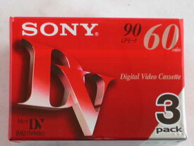 ソニー デジタル ビデオカセット 3DVM60R3