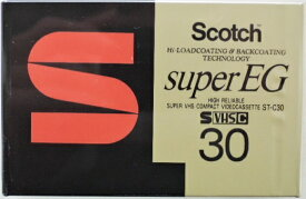 スコッチ S−VHS−C ビデオテープ ST−C30SUE