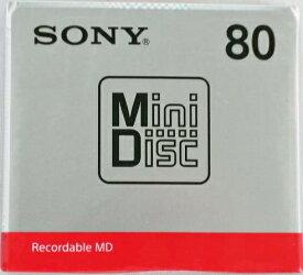 ソニー ミニディスク 80分 1P MDW80T