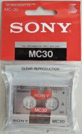 ソニー マイクロ カセットテープ MC−30A