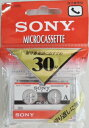 ソニー マイクロ カセットテープ MC−30B