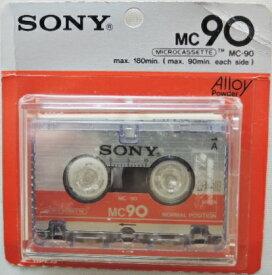 ソニー マイクロ カセットテープ MC−90