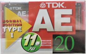 TDK カセットテープ AE−20F 11巻パック