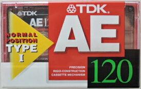 TDK カセットテープ AE−120F 120分テープ